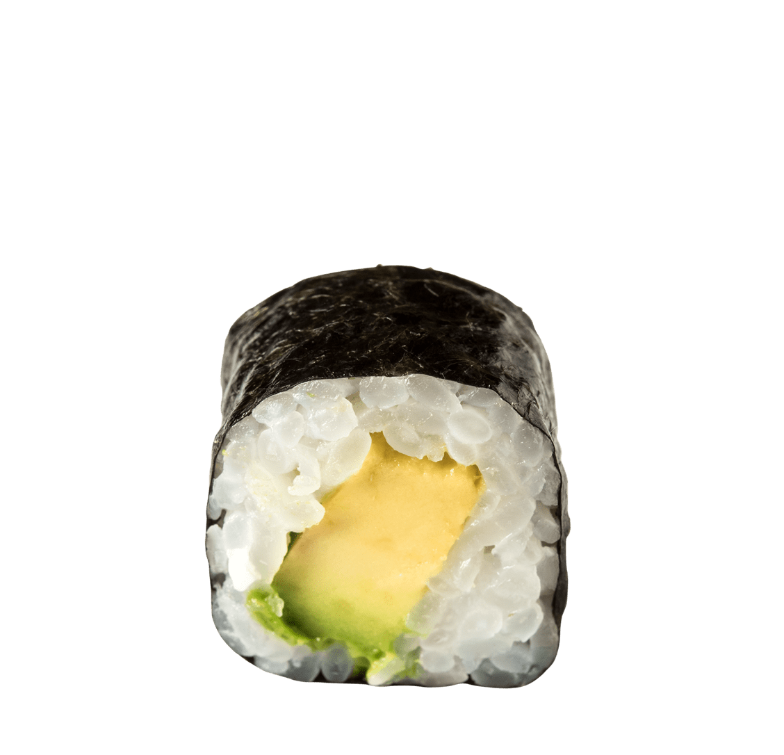 Avocado Maki</br>5,50 € title=Avocado Maki</br>5,50 €