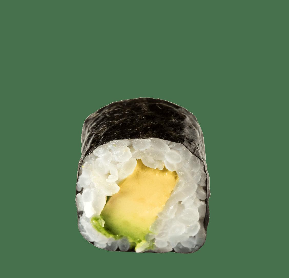 Avocado Maki</br>5,50 € title=Avocado Maki</br>5,50 €